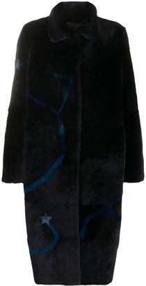 Liska Star Single-Breasted Coat