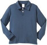 City Threads 2-Button Polo Shirt (Toddler/Kid) - Midnight-7