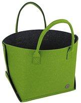 Lanvdesign Detachable Fashion Felt Bag Travel Bag Carry Tote Bag Lady Bag
