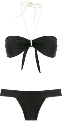ESC Rolote ruched bikini set