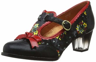 Poetic Licence by Irregular Choice Women's Floral Feeling T-Bar Heels