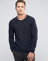 Celio Knitted Jumper In Chunky Knit