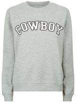 Claudie Pierlot Tahoe Cowboy Sweatshirt