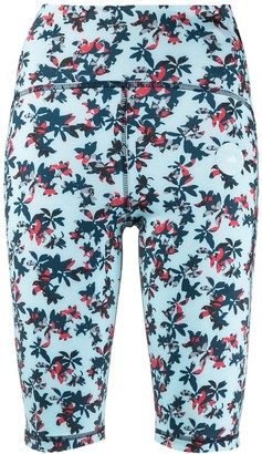 adidas by Stella McCartney TruePurpose floral-print cycling shorts