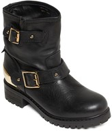 Love Moschino Buckle Strap Boot
