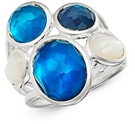 Ippolita Sterling Silver Wonderland Blue Moon Five-Stone Ring
