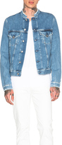 Acne Studios Who Frayed Denim Jacket