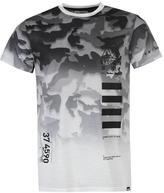 Fabric Camouflage T Shirt
