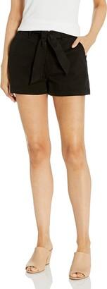 Paige Women's Soft Mid Thigh Anessa Short w/Waist Tie