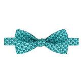 Thomas Pink Elephant Geo Print 'Self Tie' Bow Tie