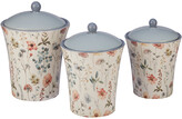 Certified International Country Weekend 3Pc Canister Set