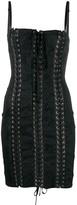 Dolce & Gabbana jacquard corset dress