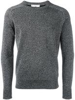 Ami Alexandre Mattiussi metallic crew neck sweater - men - Polyamide/Polyester/Wool - S