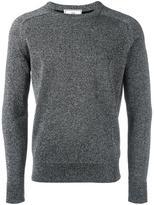 Ami Alexandre Mattiussi metallic crew neck sweater