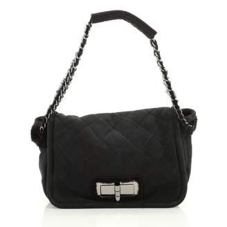 Chanel \N Black Suede Handbags