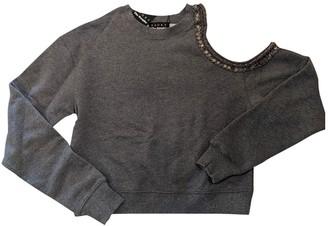 The Kooples Grey Cotton Top for Women