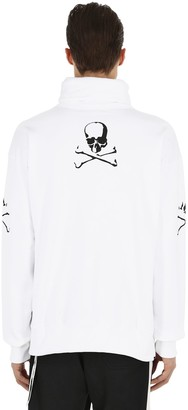 Mastermind World Skull Embroidered High Collar Sweatshirt