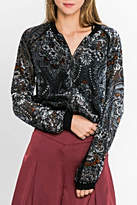 Flying Tomato Velvet Bomber Jacket