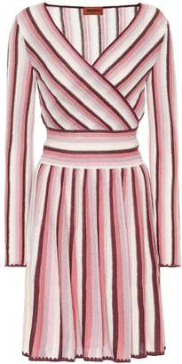 Missoni Striped crochet dress