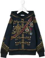 Dolce & Gabbana military print hoodie