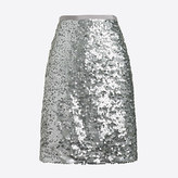 J.Crew Factory Sequin mini skirt