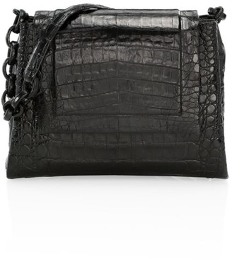 Nancy Gonzalez Medium Crocodile Shoulder Bag