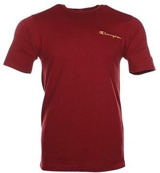 Champion Heritage Short Sleeve Tee - Chest Script (Cherry Pie) Men's Clothing