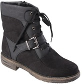 Boots Womens' Journee Collection Buckle Detail Round Toe