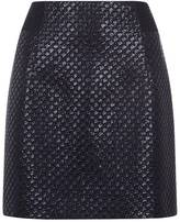 Antipodium Raffia Mesh Pencil Skirt