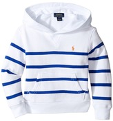 Polo Ralph Lauren Yarn-Dyed Atlantic Terry Hooded Pullover (Toddler)
