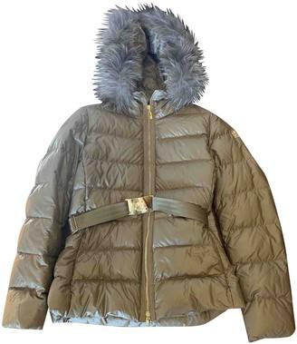 Moncler Gold Fur Coats