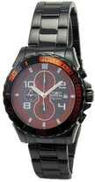 Invicta 7393 Men's Signature II Red & Dial Chronograph Ion Plated Quartz Watch