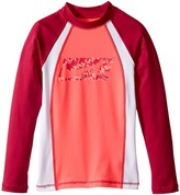 Nike Splash Long Sleeve Hydro Top Girl's Swimwear