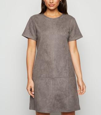 New Look Petite Suedette Mini Dress