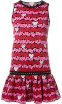 Giamba heart pattern knit dress