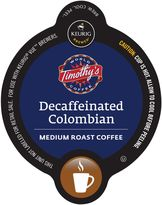 Vue VueTM 16-Count Timothy's Decaffeinated Colombian Coffee for Keurig® Brewers