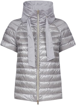 Herno Short Sleeved Padded Jacket
