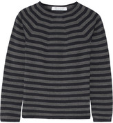 Comme des Garcons Striped Wool Sweater - Navy