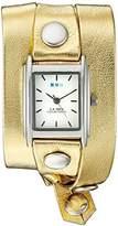 La Mer WANDER LUST 00002 0.5mm Leather Synthetic Gold Watch Bracelet