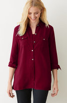 J. Jill Tencel® Two-Pocket Shirt
