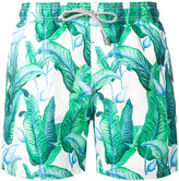 MC2 Saint Barth floral print swim shorts - men - Polyester/Polyamide/Spandex/Elastane - S