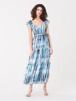 Diane von Furstenberg Lexie Soft Voile Maxi Dress