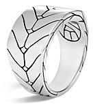 John Hardy Men's Sterling Silver Modern Chain Band Ring