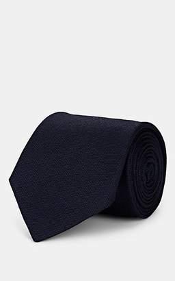Melange Home Bigi Men's Wool Necktie - Navy