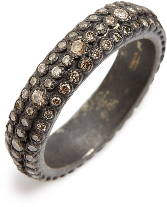 Armenta Old World Eternity Diamond Stack Ring