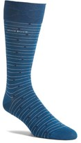 BOSS Men's Rs Design Dot Stripe Socks