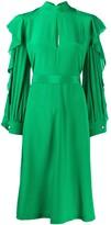 Golden Goose ruffle sleeve dress