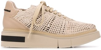 Manuel Barceló Woven Low-Top Sneakers