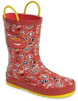 Western Chief Cars(R) Lightning Fast Waterproof Rain Boot (Walker, Toddler, Little Kid & Big Kid)