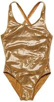 Finger In The Nose Metallic Lycra One Piece Swimsuit